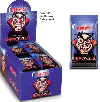 BEBETO 17g Dracoola Jelly Gum