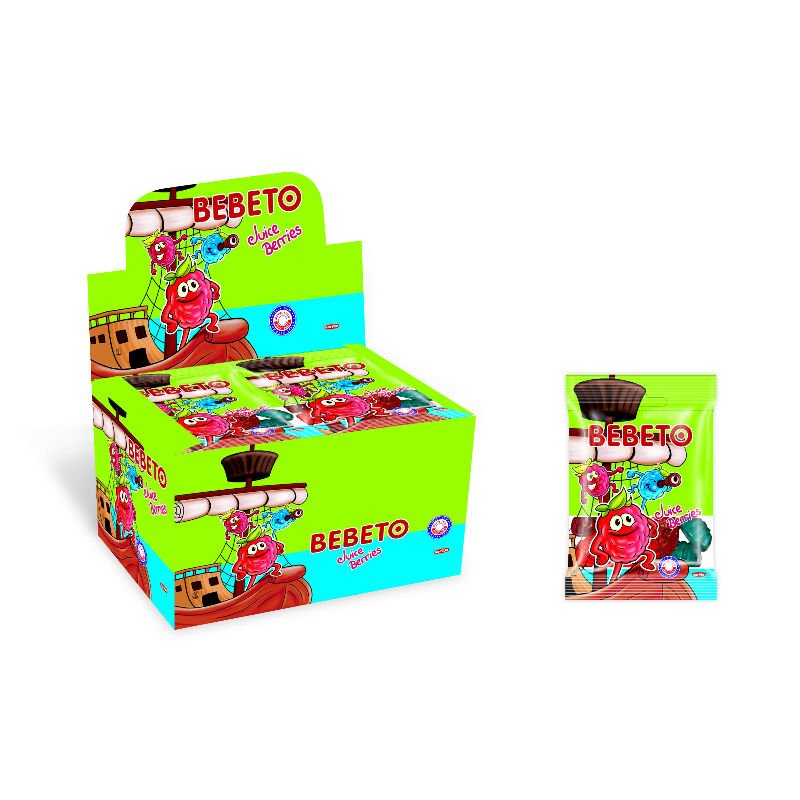 BEBETO 20g Juice Berries Jelly Gum