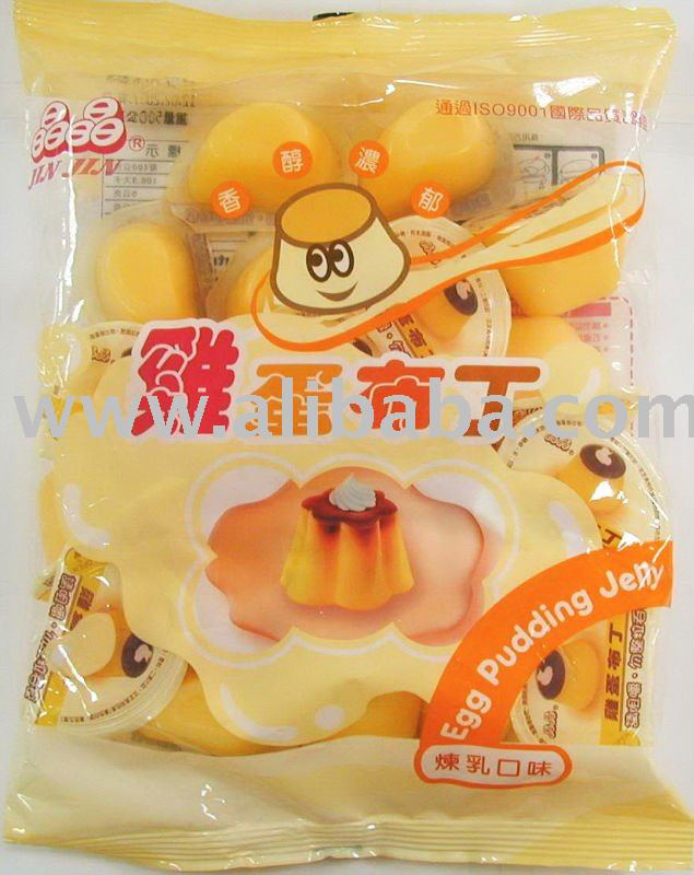 Pudding Jelly - Artificial Egg Flavor