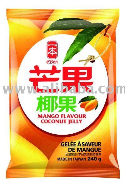 e-Ben Mango Flavour Coconut Jelly