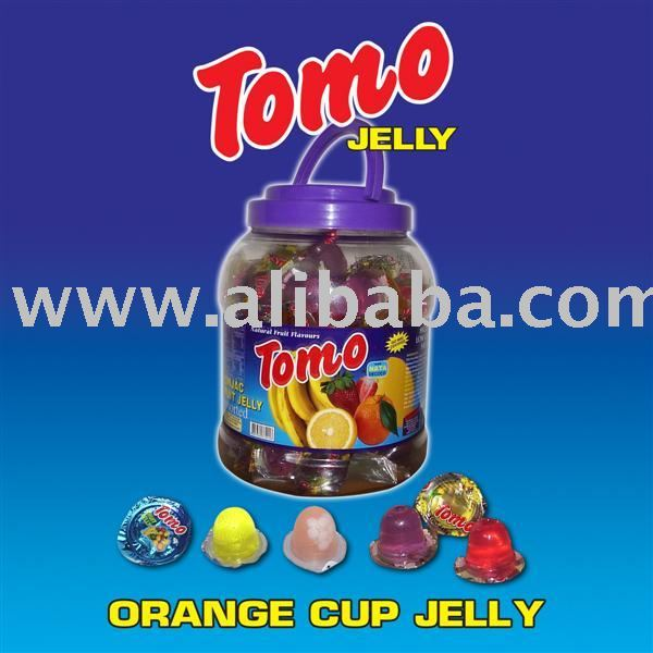 orange cup jelly