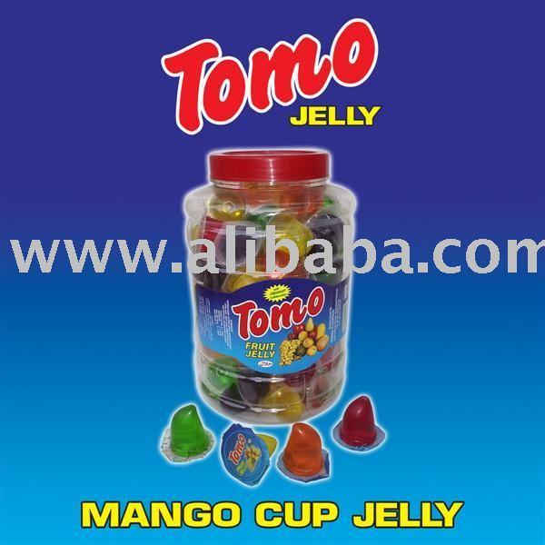 mango cup jelly