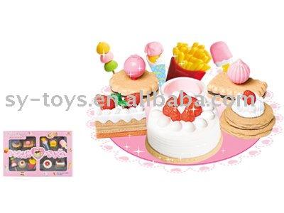 snacks toys set