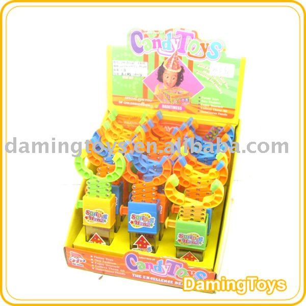 Spring Hand Candy Toy(Toy Candy)(18Pcs/Box)