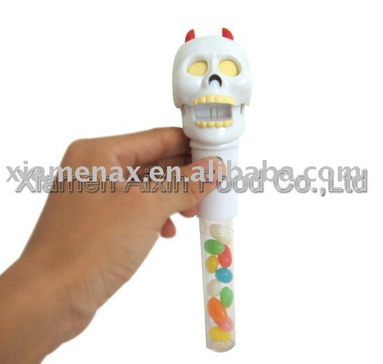 skeleton toy candy