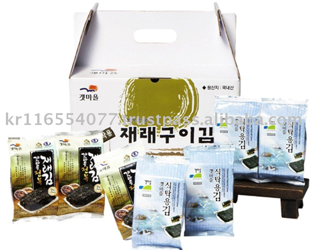 seasoned seaweed _ [ Seasoning Roasted laver ]
