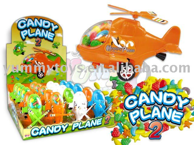 Baby helicopter toy candy