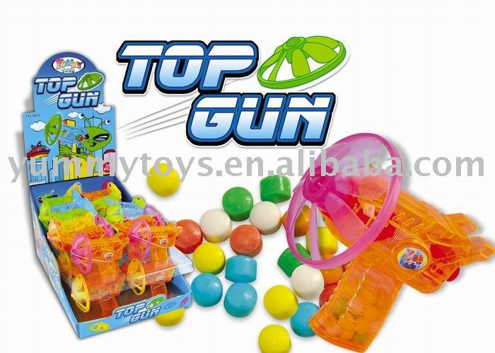 Top Gun candy in toy