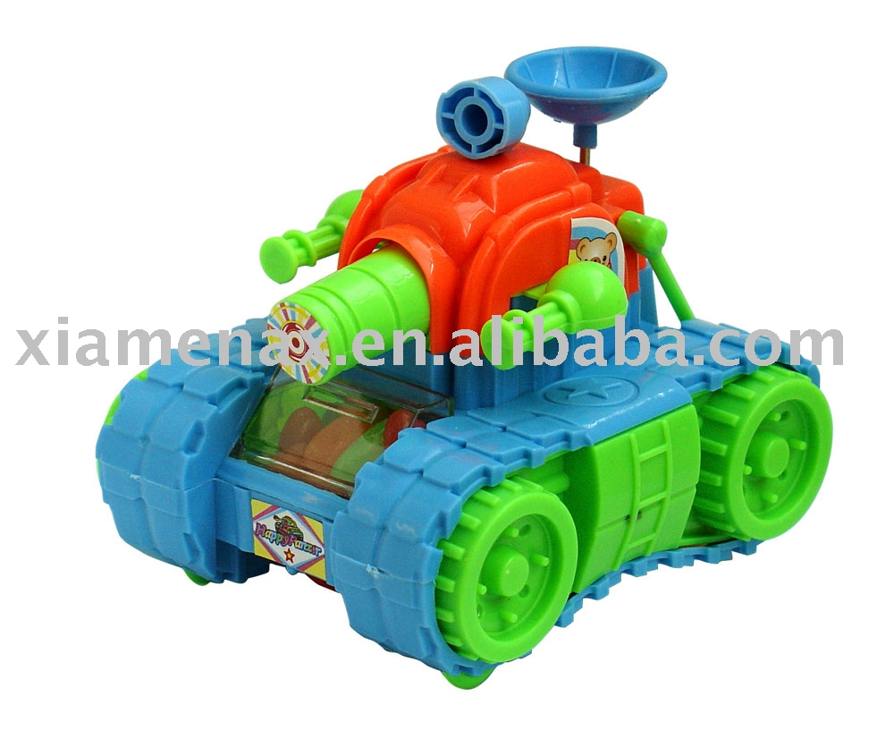 emulational tank toy candy
