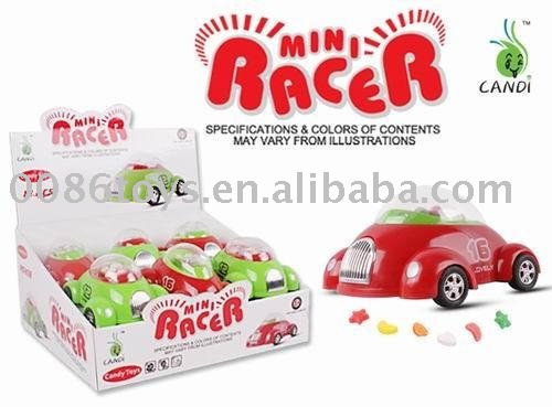 mini racer car candy sweet toy