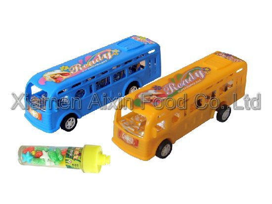 super bus   toy candy