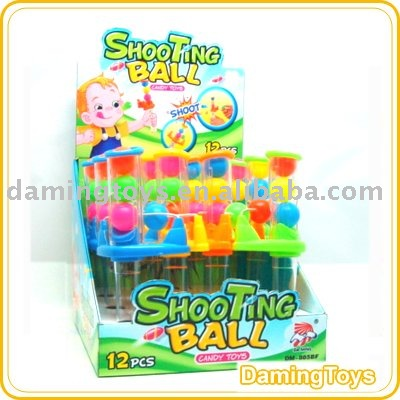 Shooting Ball Sweet Candy Toys(817Tube)
