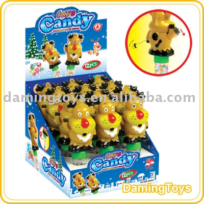 Christmas Deer shape camera candy toy