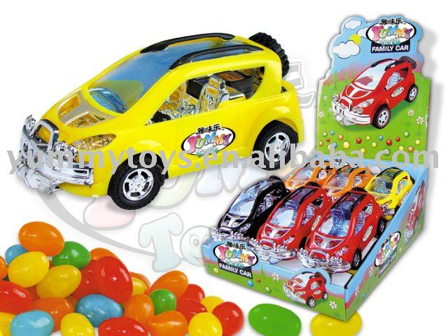Friction Family car sweet toy