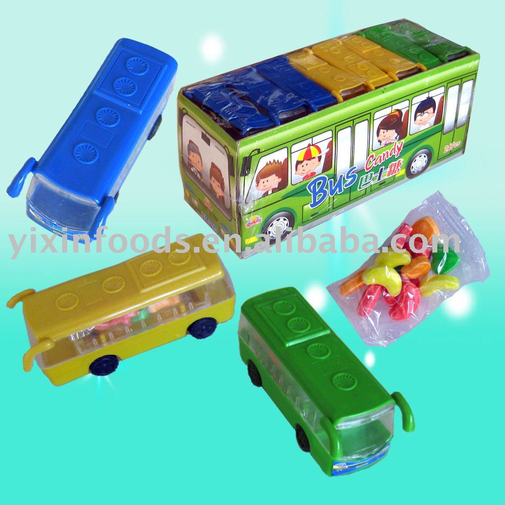 Bus Toy Candy