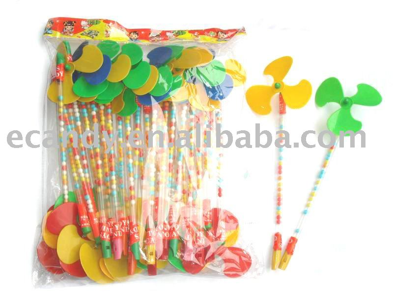 Windmill candy in toy,sweet toys,confectionery