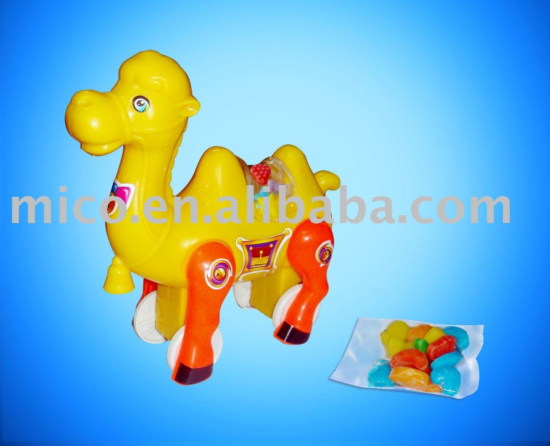 Wind Up Camel Toy Candy