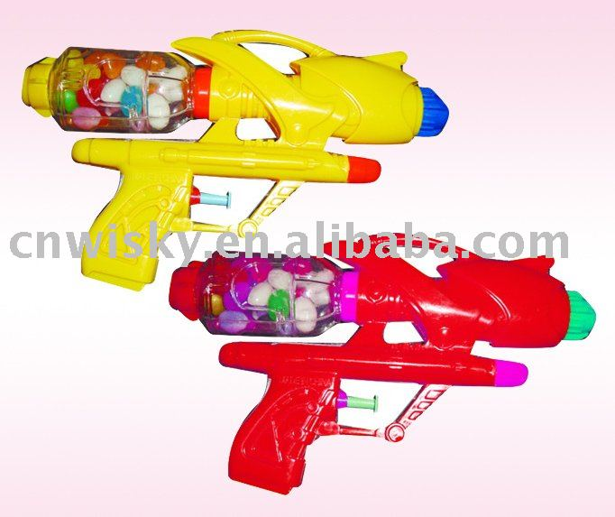 water gun toys with candy ( candy toy )
