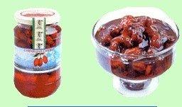 Cornelian cherry preserve