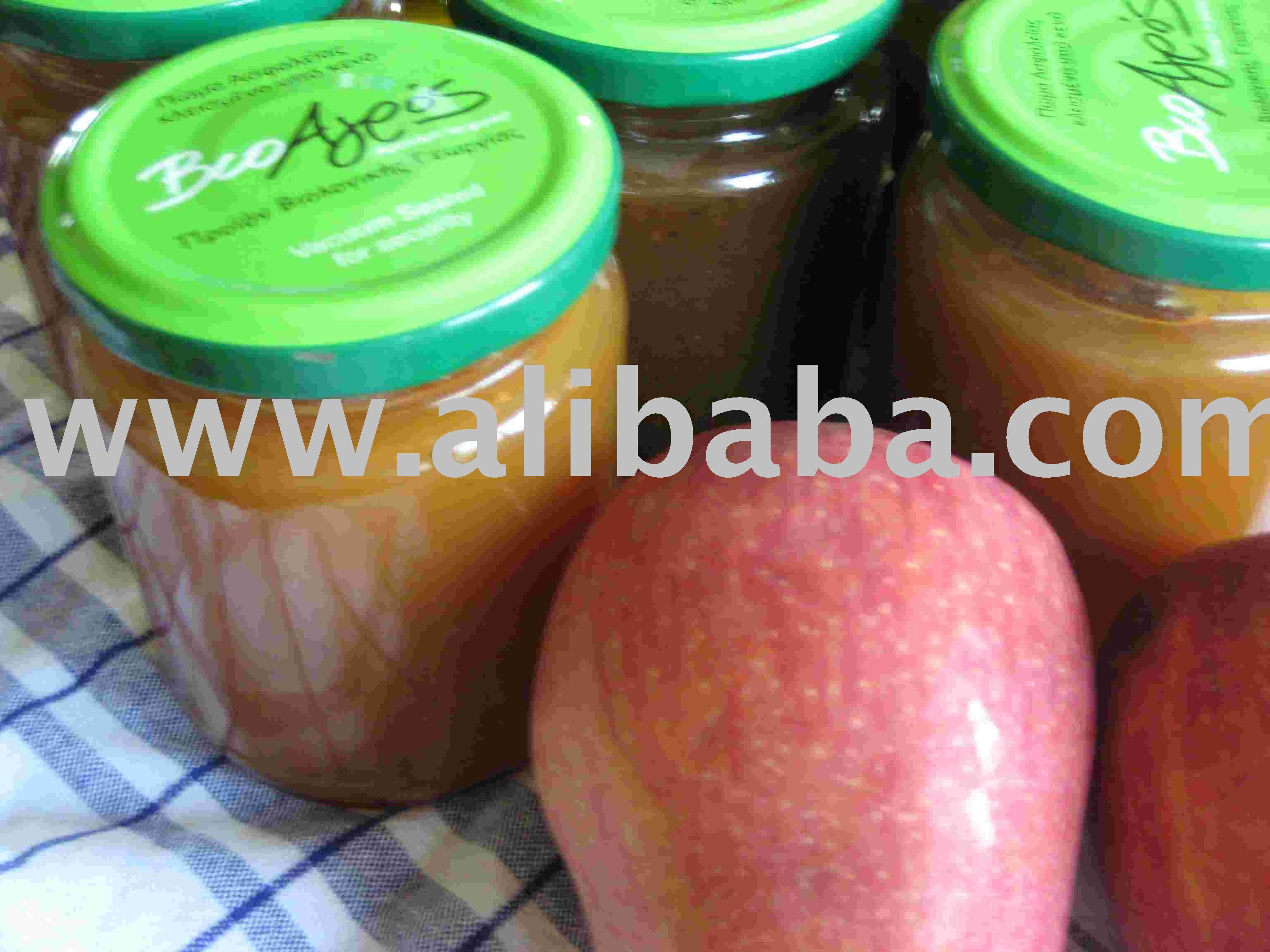 Organic Marmalade Fruit Jam In Various Tastes