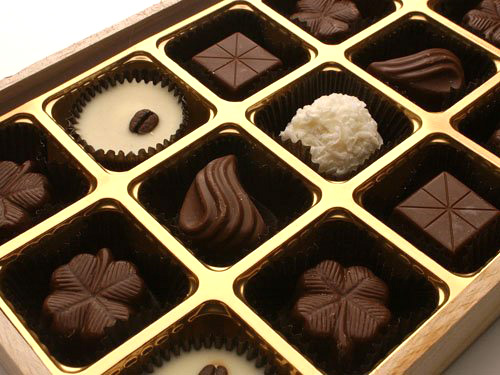 Sucrose esters in chocolate and candy