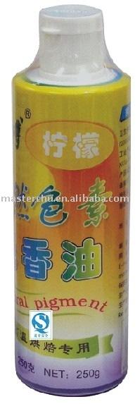Lemon Flavoured Gel (natural pigment) 250g Flavored Oil Master Chu