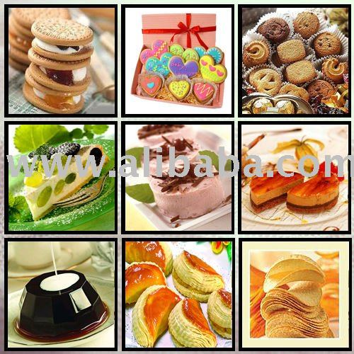 baked products flavours