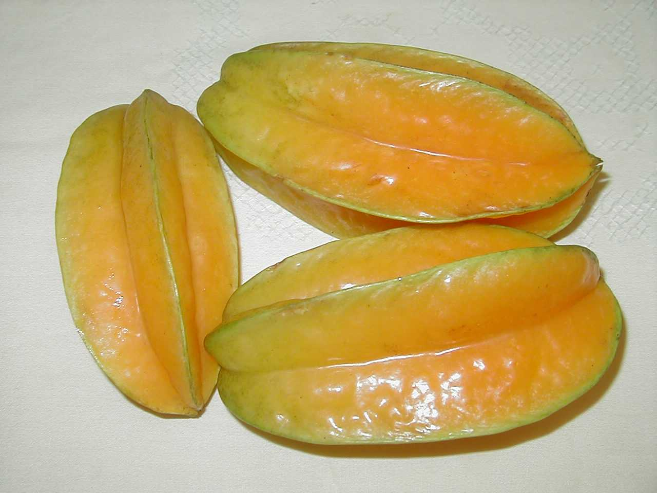 how to eat carambola star fruit