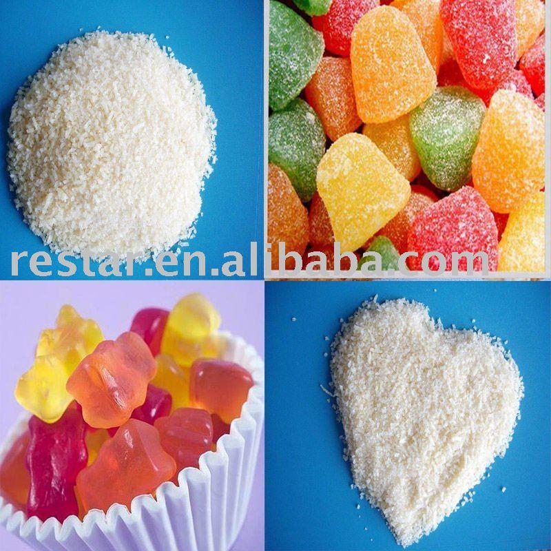 skin gummy candy gelatin