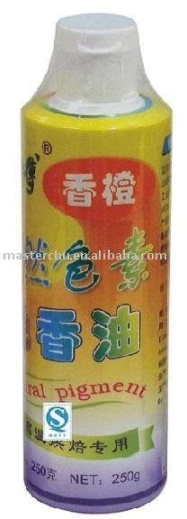 Orange Flavoured Gel (natural pigment)