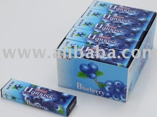 Lotte Stick Gum Blueberry 5