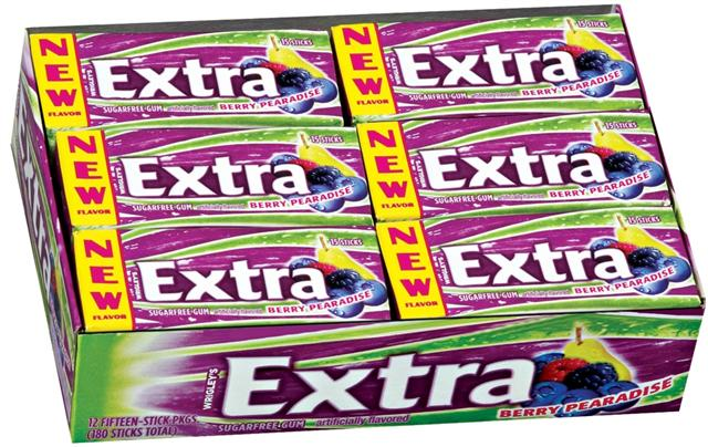 Extra Gum Berry Paradise candy