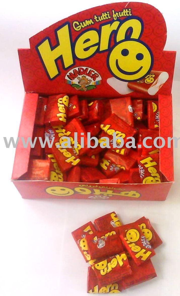 Hero Gum With Tutti Fruitti