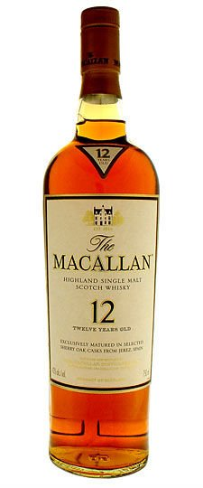 Macallan 12 year old Single Malt Whisky 750ml