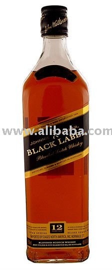 Johnnie Walker Black Blended Scotch Whisky 750ml