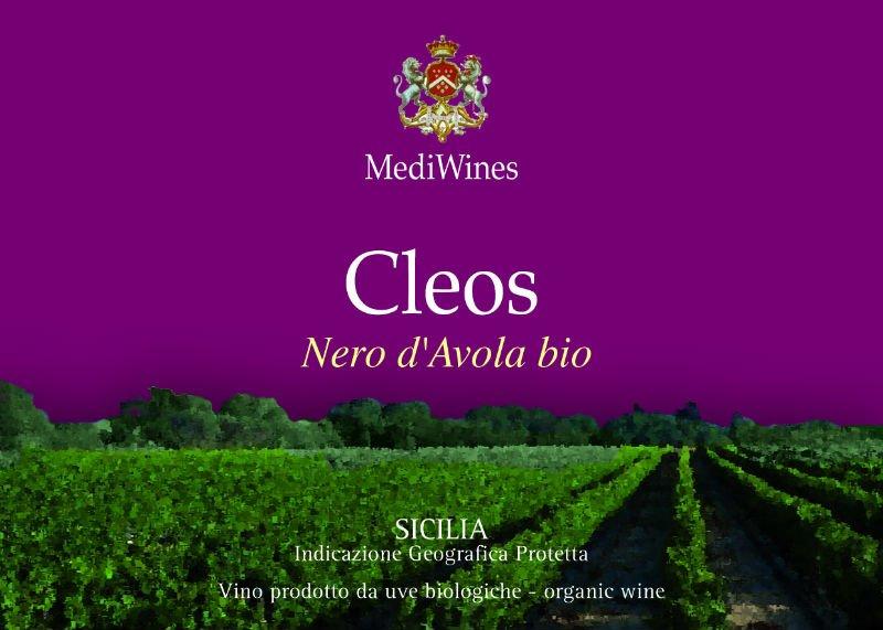 Cleos Nero D Avola Organic Wine Products Italy Cleos