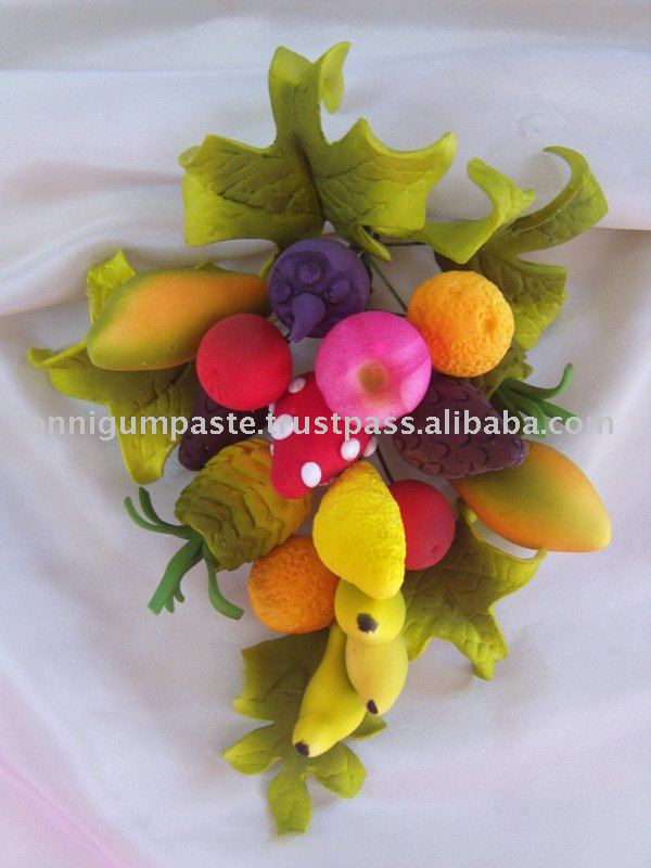 flowers cake decoration