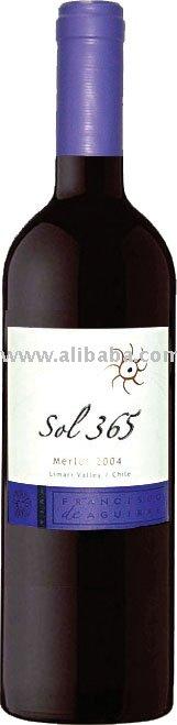 Sol 365 Merlot 2004' 750ml Wine