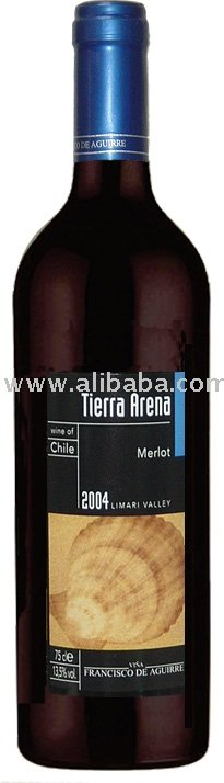 Tierra Arena Merlot 2004' 750ml Wine