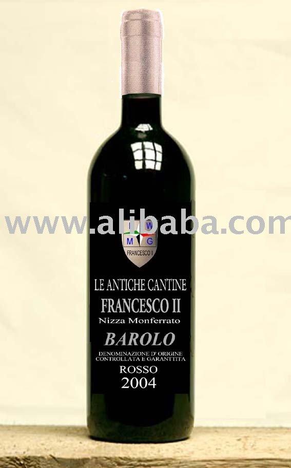 Italian Wine Barolo D. O. C. G.