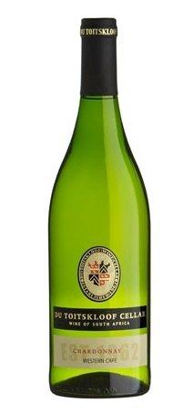 white wine- DU TOITSKLOOF CHARDONNAY 2009