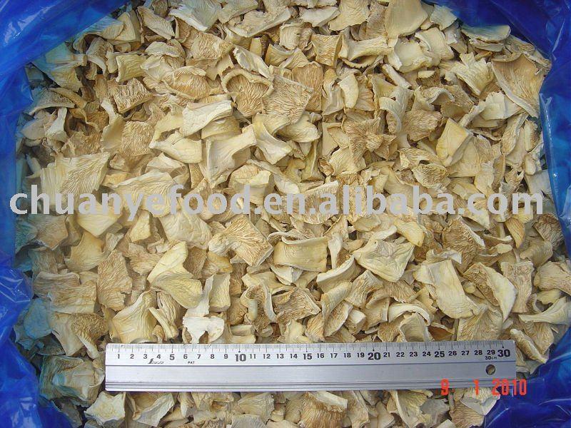 Dried pleurotus ostreatus/Dehydrated oyster mushroom