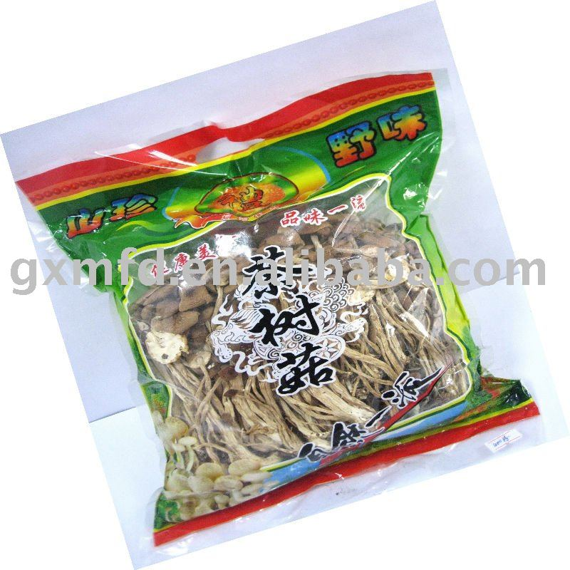 chinease dried tea tree  mushroom  bag
