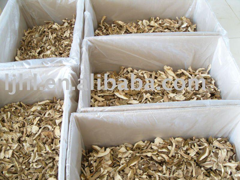 dried boletus edulis/porcini