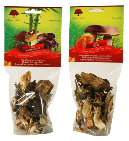 Blends Of Dried Mushrooms