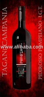 Piedirosso red wine from Italy