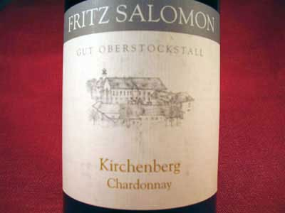 Chardonnay Dry, Bio-White Wine, Austria, Ried Kirchenberg