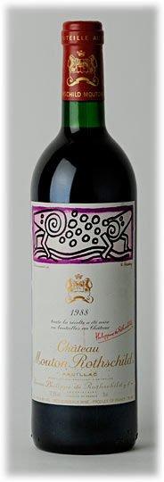 1988 Mouton-Rothschild, Pauillac
