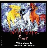 wine-- Wild Grape Port 375ml