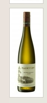 Dry White Wines- Fairview Weisser Riesling 2008